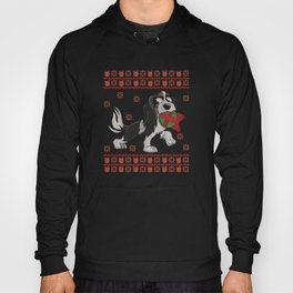 Cavalier King Charles Spaniel Ugly Christmas Dog T-Shirt Hoody