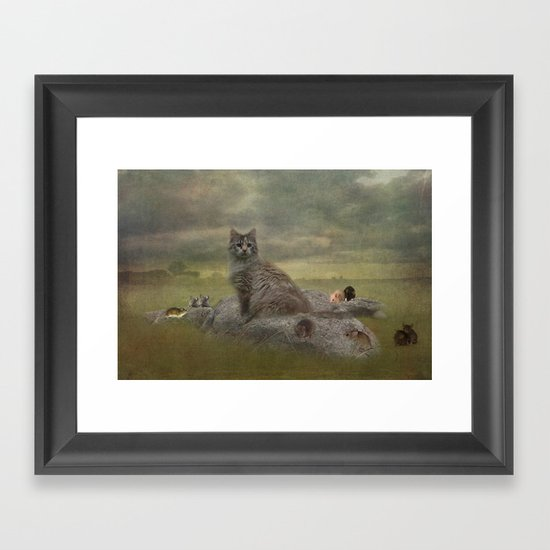 The Mouser Framed Art Print