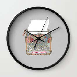 I DON'T KNOW WHAT TO WRITE YOU Wall Clock