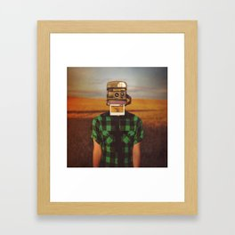 I See What You See Framed Art Print