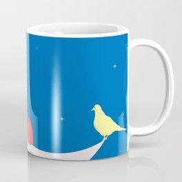 Moon in love Coffee Mug