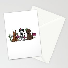 The Rescues Stationery Cards
