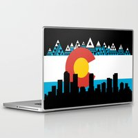 colorado Laptop & iPad Skins featuring COLORADO by Love Life Creative