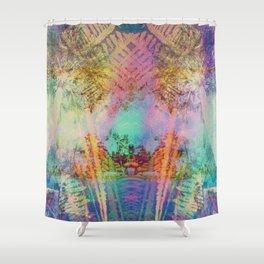 insulae pacificus Shower Curtain