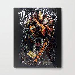 The Magic City Metal Print