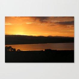 Sunrise - Ben Lowmond - Tasmania Canvas Print