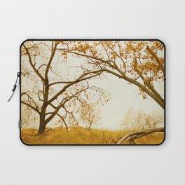 Autumn Gold - Modern Landscape Photograph Laptop Sleeve