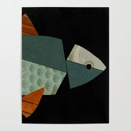 Nearly a Fish Poster