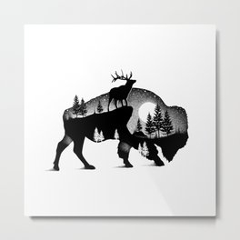 WILD GIANTS Metal Print