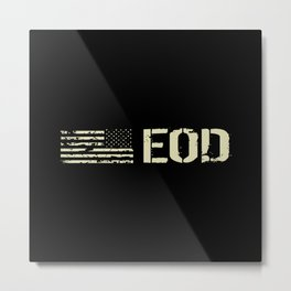 Black Flag: EOD Metal Print
