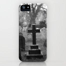 Cemetery. iPhone Case