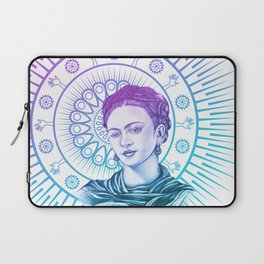 Frida Kahlo Feminist Bravery Laptop Sleeve