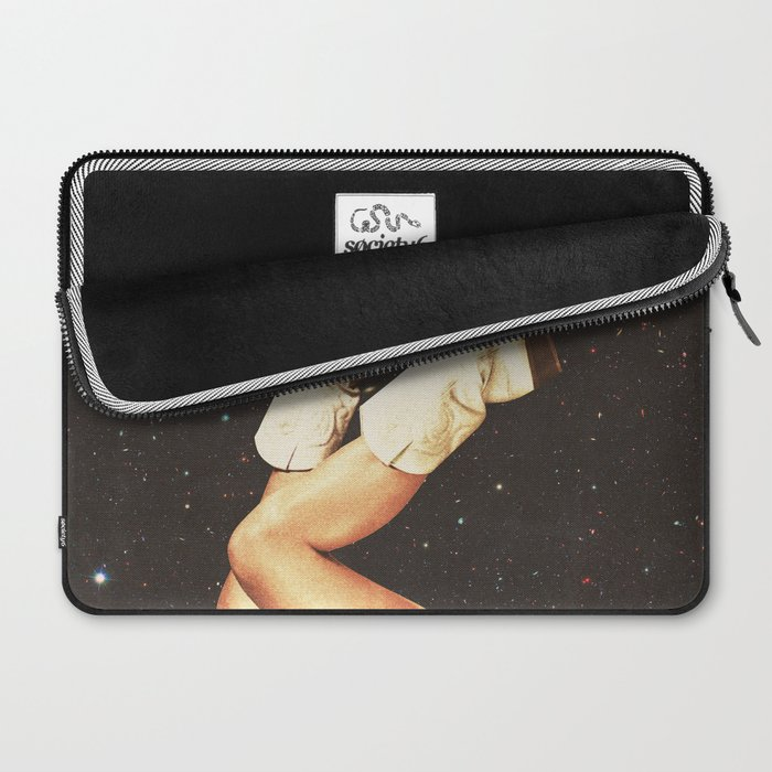 These Boots - Space Laptop Sleeve
