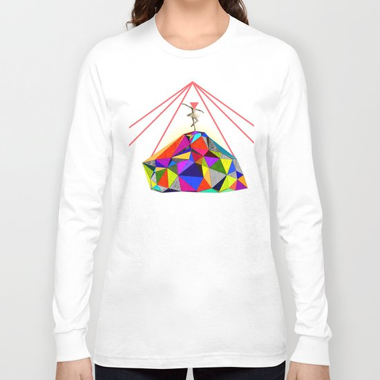 the dancer who could bring colors to the whitest iceberg  Long Sleeve T-shirt