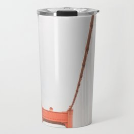 On the Golden Gate Bridge Travel Mug