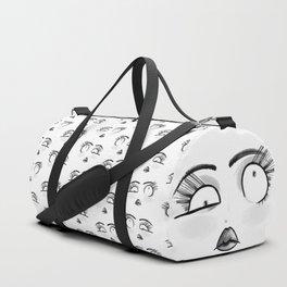 Weird Faces - LookUp Duffle Bag