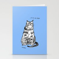 rubyetc Stationery Cards featuring I'm a delight by rubyetc