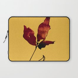 Floral Abstract No.2s by Kathy Morton Stanion Laptop Sleeve