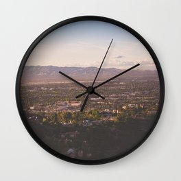 Mulholland Drive Wall Clock