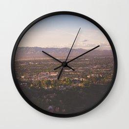 Mulholland Drive Wall Clock
