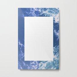Waves No. 2 Metal Print