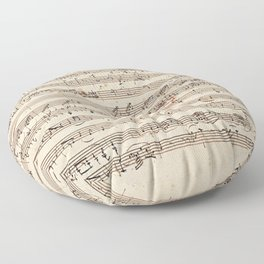 Mozart Floor Pillow