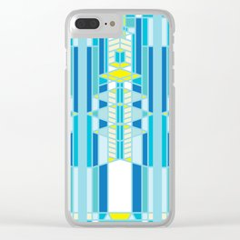 FL Wright Design Clear iPhone Case