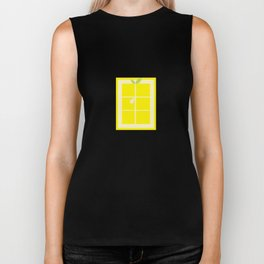 Rectangle lemon Biker Tank