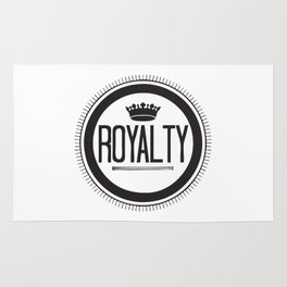You Are #Royalty Rug
