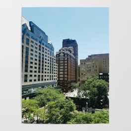 View of Center City Poster