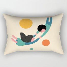 Won't Let Go Rectangular Pillow