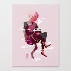 Black Magic Boy Canvas Print