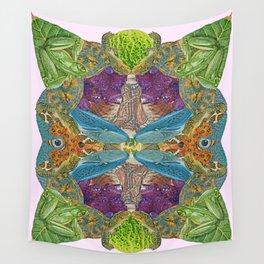 Nature's Matrix Wall Tapestry