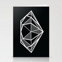 diamond Stationery Cards featuring Diamond by stephanie nichole