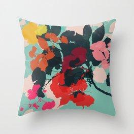 cherry blossom 5 Throw Pillow