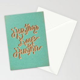Hustlers Keep Stationery Cards