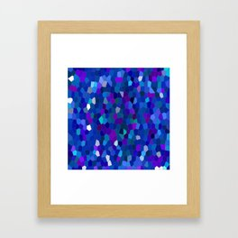 Geometrically mosaically speaking... Framed Art Print