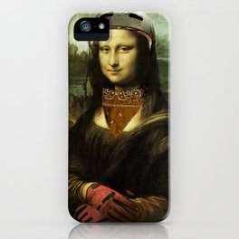 Dirty Lisa iPhone Case