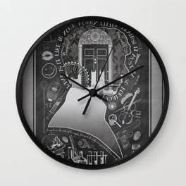 What is it Like in Your Funny Little Brains? Wall Clock
