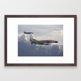 F4 Phantom Framed Art Print