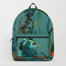 Sea Horse Haven.... Backpack