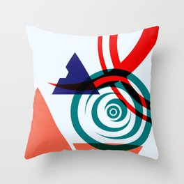 Abstract Space 01 Throw Pillow