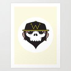 A Wicked Gentleman Art Print