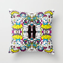 StreetArt Throw Pillow