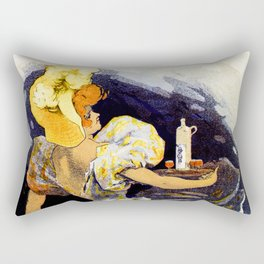 Punch Grassot 1895 Rectangular Pillow