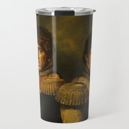Noel Gallagher & Liam Gallagher - replaceface Travel Mug
