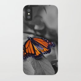 Monarch BW iPhone Case