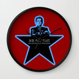 Jed Bartlet - An American President  Wall Clock