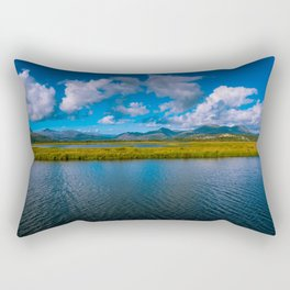 Late summer in Snowdonia, Wales Rectangular Pillow