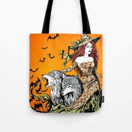 Underworld Witch Tote Bag